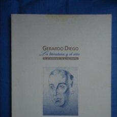 Arte: GERARDO DIEGO -LA LITERATURA Y EL ARTE- 1996. Lote 52651904