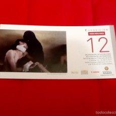 Arte: WORD PRESS PHOTO 12 FOLLETO EXPOSICIÓN VALLADOLID 2012. Lote 58228691