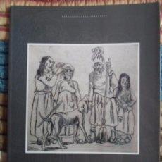 Arte: JOSÉ GUTIÉRREZ SOLANA: AGUAFUERTES Y LITOGRAFÍAS FUNDACIÓN CAIXA GALICIA 1992 LIBRO 20X30 PAG-50 NEW. Lote 79991634