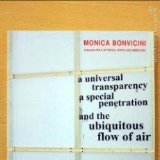 Arte: MÓNICA BONVICINI. A BLACK HOLE OF NEEDS, HOPES AND AMBITIONS. Lote 59082220