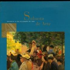 Arte: SUBASTA DE ARTE. VALENCIA 12 DICIEMBRE 1994. BANCARTE. 170 PÁGINAS. 27X22 CM.. Lote 59855036