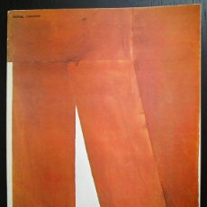 Arte: RAFAEL CANOGAR - GALERÍA JUANA MORDÓ, MADRID, 1976. Lote 60234435