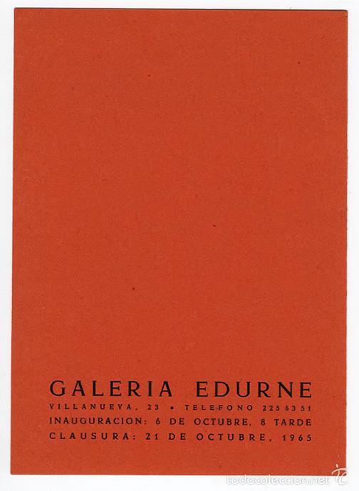 Arte: Mariano Fortuny – díptico de la Galería Edurne, Madrid, 1965 - Foto 3 - 60372923