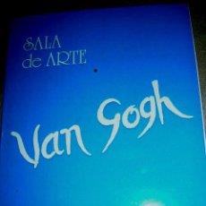Arte: PEREZ BELLLAS. PINTOR GALLEGO.CATÁLOGO EXPOSICIÓN EN SALA ARTE VAN GOGH. VIGO -PONTEVEDRA. Lote 61185791