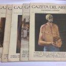 Arte: GAZETA DEL ARTE, EXPOSICIONES Y SUBASTAS - LOTE 5 EJEMPLARES - Nº -19,24,30,31,32,. Lote 61498978