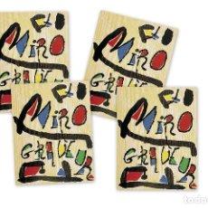 Arte: MIRÓ GRABADOR - 4 VOLÚMENES (1928 - 1983) CATÁLOGO RAZONADO GRABADOS DE JOAN MIRÓ. Lote 61890996