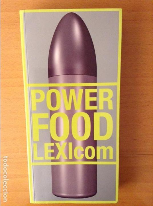 POWER FOOD LEXICOM (Arte - Catálogos)