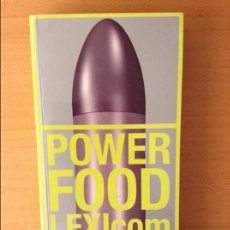 Arte: POWER FOOD LEXICOM. Lote 61899816