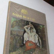 Arte: BELGIAN ART IN EXILE-A REPRESENTATIVE GALLERY OF MODERN BELGIAN ART-MCMXVI. Lote 62279852