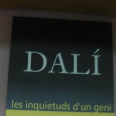 Arte: DALI , LES INQUIETUDS D'UN GENI. MANEL MAYORAL JUNY 2004.. Lote 62330668