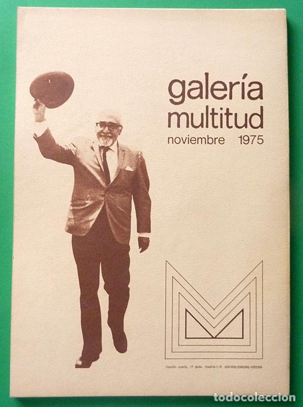 Arte: RAMÓN J. SENDER: OBRA PICTÓRICA - GALERÍA MULTITUD - 1975 - NUEVO - Foto 3 - 63382544