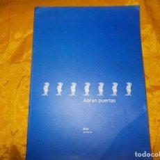 Arte: ABRAN PUERTAS. BULY ( AURELIO DIAZ TRILLO) . PINTURAS. CATALOGO. Lote 63972063