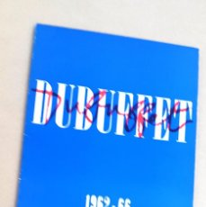Arte: DUBUFFET - 1962 - 1966 - THE SOLOMON R. GUGGENHEIM MUSEUM . Lote 66507602