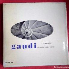 Arte: GAUDÍ - FOTOSCOP - JOAQUÍN GOMIS - 1ª EDICIÓN - FOTOLIBRO - 1958 . Lote 67102817