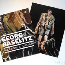 Arte: GEORG BASELITZ. INVITACIÓN A LA EXPO EN EL STÄDEL MUSEUM DE FRANKFURT. Lote 67447649