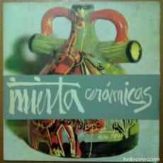 Arte: CATALOGO INIESTA CERAMICAS GALERIA DE ARTE SYRA BARCELONA 1964. Lote 68660637