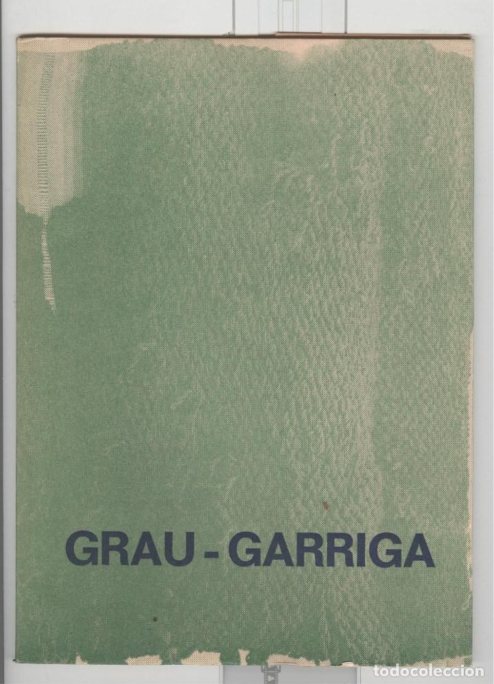 GRAU GARRIGA. TAPISSOS. MUSEU TEXTIL TERRASSA 1973 (Arte - Catálogos)