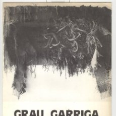Arte: GRAU GARRIGA PINTURES I TAPISSOS. EXPO ANDORRA MERITXELL 1976. . Lote 71153653