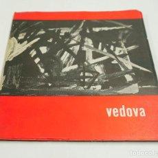 Arte: VEDOVA, CUADERNOS DE ARTE DEL ATENEO DE MADRID. 1961, 21X21CM.. Lote 71229119