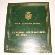 Arte: VV.AA. II BIENAL INTERNACIONAL DE ARTE. AGOSTO 1976. CATÁLOGO. RMT78153. . Lote 71233567