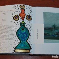 Arte: CATÁLOGO MUSEO DE ARTE CONTEMPORÁNEO ELSEDO CON PINTURA ORIGINAL DE JULIO DE PABLO - PÁMANES. Lote 72238347