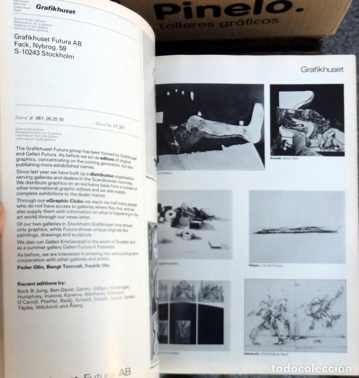 Arte: ART 7`76 BASEL, DIE ITERNATIONALE KUNTSTMESSE, 640 PAGINAS - Foto 3 - 73946523
