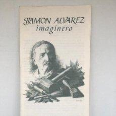 Arte: RAMON ALVAREZ IMAGINERO- PROGRAMA EXPOSICION CATEDRAL DE ZAMORA- 1989. Lote 74182459