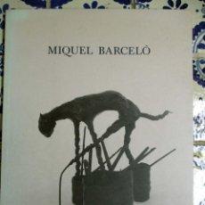 Arte: MIGUEL BARCELÓ. PINTURAS Y ESCULTURAS 1993. Lote 74351003