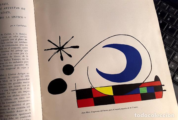 Arte: RIUTORT - Nº 8 -10 - 1958 - MACULADURA THARRATS - SERIGRAFIA DE MIRÓ - Foto 3 - 74748095