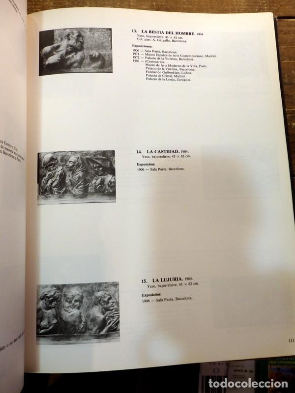 Arte: GARGALLO, 1881-1981, CATALOGO EXPOSICION DEL CENTENARIO - Foto 5 - 74880951