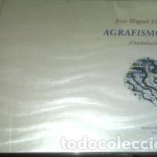 Arte: AGRAFISMOS ONDULACIONES / JOSÉ MIGUEL ULLÁN OBRA NUEVA PRECINTADO. Lote 195255235