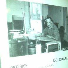 Arte: PREMIO PENAGOS DE DIBUJO XX CONVOCATORIA / FUNDACIÓN MAPFRE. OBRA NUEVA. Lote 75521551