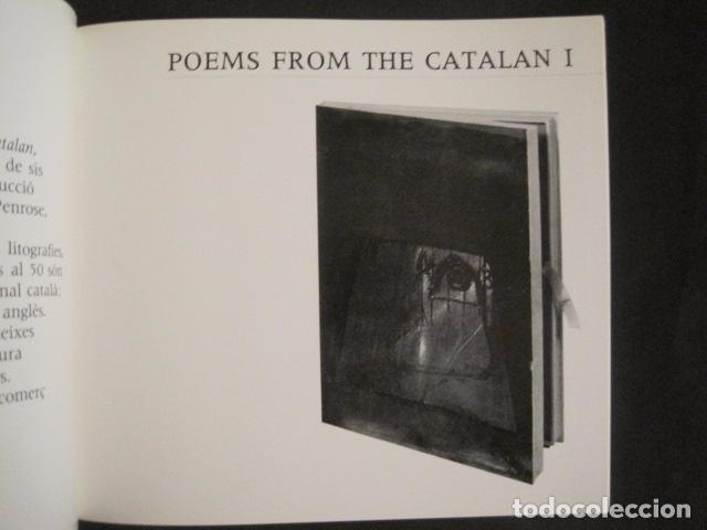 Arte: POEMS FROM CATALAN BROSSA- TAPIES - GALERIA D´ART DAU AL SET - VER FOTOS -(V-9043) - Foto 5 - 76169339