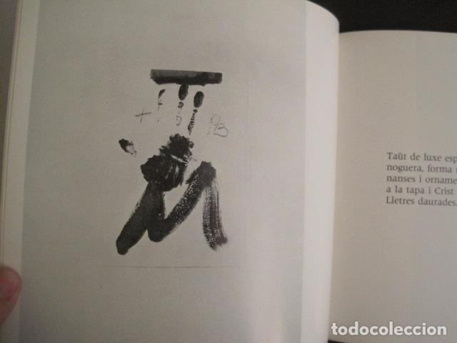 Arte: POEMS FROM CATALAN BROSSA- TAPIES - GALERIA D´ART DAU AL SET - VER FOTOS -(V-9043) - Foto 8 - 76169339