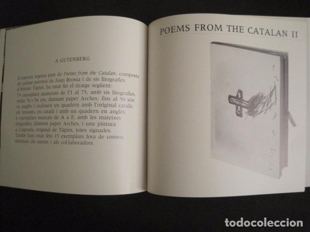 Arte: POEMS FROM CATALAN BROSSA- TAPIES - GALERIA D´ART DAU AL SET - VER FOTOS -(V-9043) - Foto 13 - 76169339