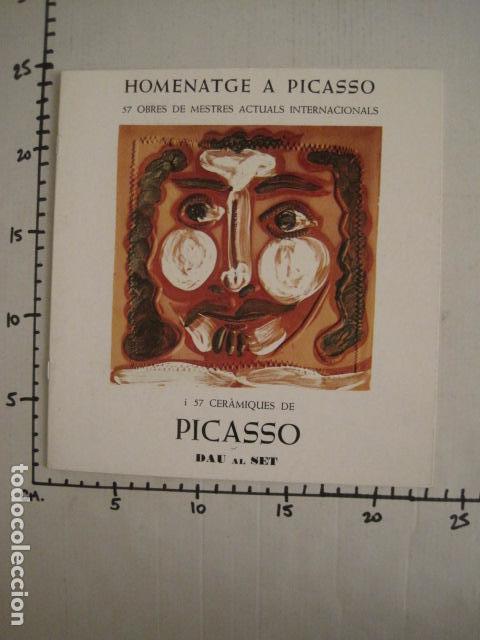 Arte: HOMENATGE A PICASSO - GALERIA D´ART DAU AL SET - VER FOTOS -(V-9044) - Foto 6 - 76169631