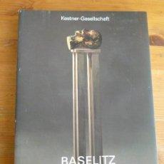 Arte: GEORG BASELITZ SKULPTUREN UND ZEICHNUNGEN. 1979 - 1987. KATALOG 2 ZUR AUSSTELLUNG 15. MAI BIS 5. JUL. Lote 77880025