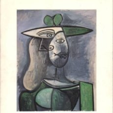 Arte: PICASSO: PEINTURES, DESSINS, GRAVURES. CATÁLOGO DE LA EXPOSICIÓN, CASTILLO DE TANLAY (YONNE) 1990. Lote 77902845