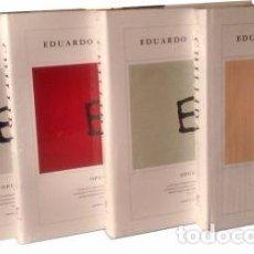 Arte: CATÁLOGO RAZONADO OBRA GRÁFICA DE EDUARDO CHILLIDA OPUS (4 VOL.) 1959-2001. Lote 144011057