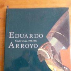 Arte: EDUARDO ARROYO. TAMAÑO NATURAL (1963-1993) EXPOSICIONES REKALDE, BILBAO 1994 144PP. Lote 78594057