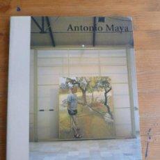 Arte: ANTONIO MAYA. CENTRO CULTURAL CONDE DUQUE. 2002 128PP. Lote 78607685