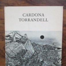 Arte: CARDONA TORRANDELL. FRANCESC MIRALLES. DAU AL SET GALERIA D'ART. 1975.. Lote 79048077