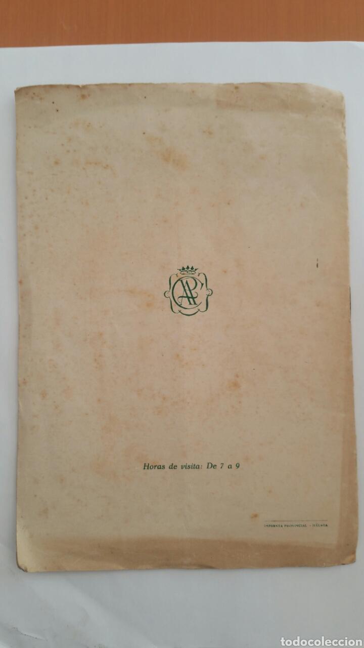 Arte: PACO HERNÁNDEZ CATÁLOGO EXPOSICIÓN AÑO 1955 MÁLAGA - Foto 2 - 79516791