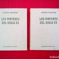 Arte: 2 LIBROS COL PICTURA PINTURA FRANCESA LOS PINTORES FRANCESES 24X20 CMS 1900 GRS . Lote 79982909
