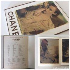 Arte: CATÁLOGO PRESENTACIÓN DE CHANEL CON IMÁGENES Y FOTOS DE LA COLECCIÓN P/V 1998 CON MÁS DE 50 PAG MODA. Lote 80305001