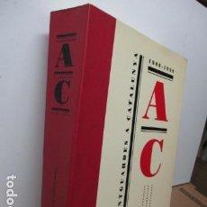 Arte: AVANTGUARDES A CATALUNYA 1906-39 CATÁLOGO EXPOSICIÓN BILINGÜE CATALÁN-INGLÉS DIFICIL - COMO NUEVO. Lote 80401293