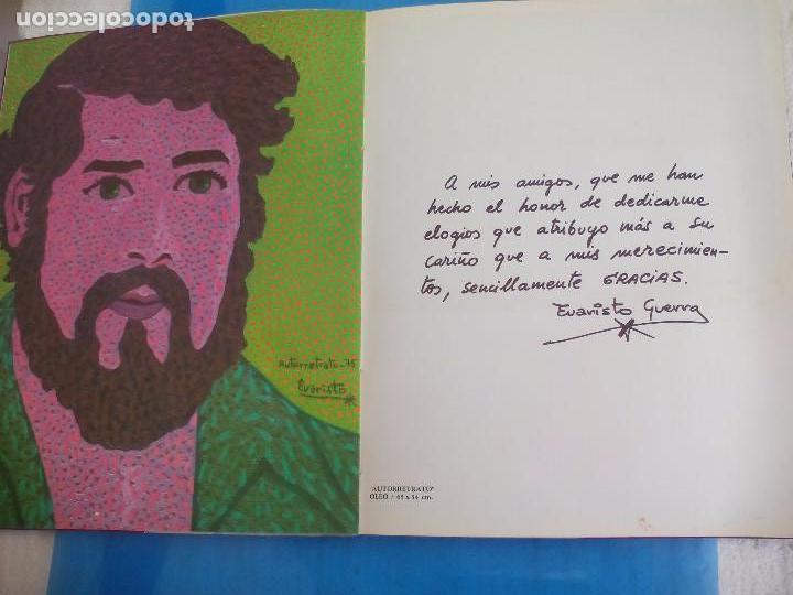 Arte: Evaristo Guerra, firmado y dedicado, catálogo exposición 1976. Galería Biosca - Foto 5 - 80721066