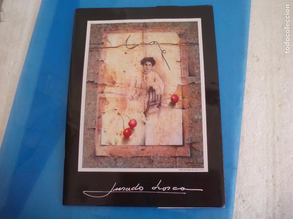 CÁTALOGO DEL PINTOR JURADO LORCA. EXPOSICIÓN ANTOLÓGICA. 1990. VÉLEZ-MÁLAGA. (Arte - Catálogos)