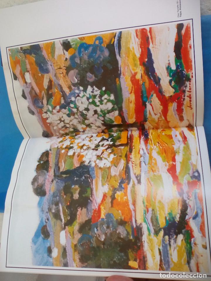 Arte: Cátalogo del pintor Jurado Lorca. Exposición Antológica. 1990. Vélez-Málaga. - Foto 3 - 80738434