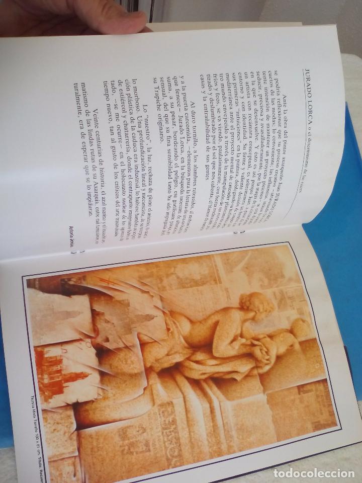 Arte: Cátalogo del pintor Jurado Lorca. Exposición Antológica. 1990. Vélez-Málaga. - Foto 6 - 80738434